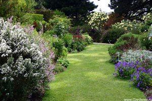 Перспектива в садово-парковой композиции